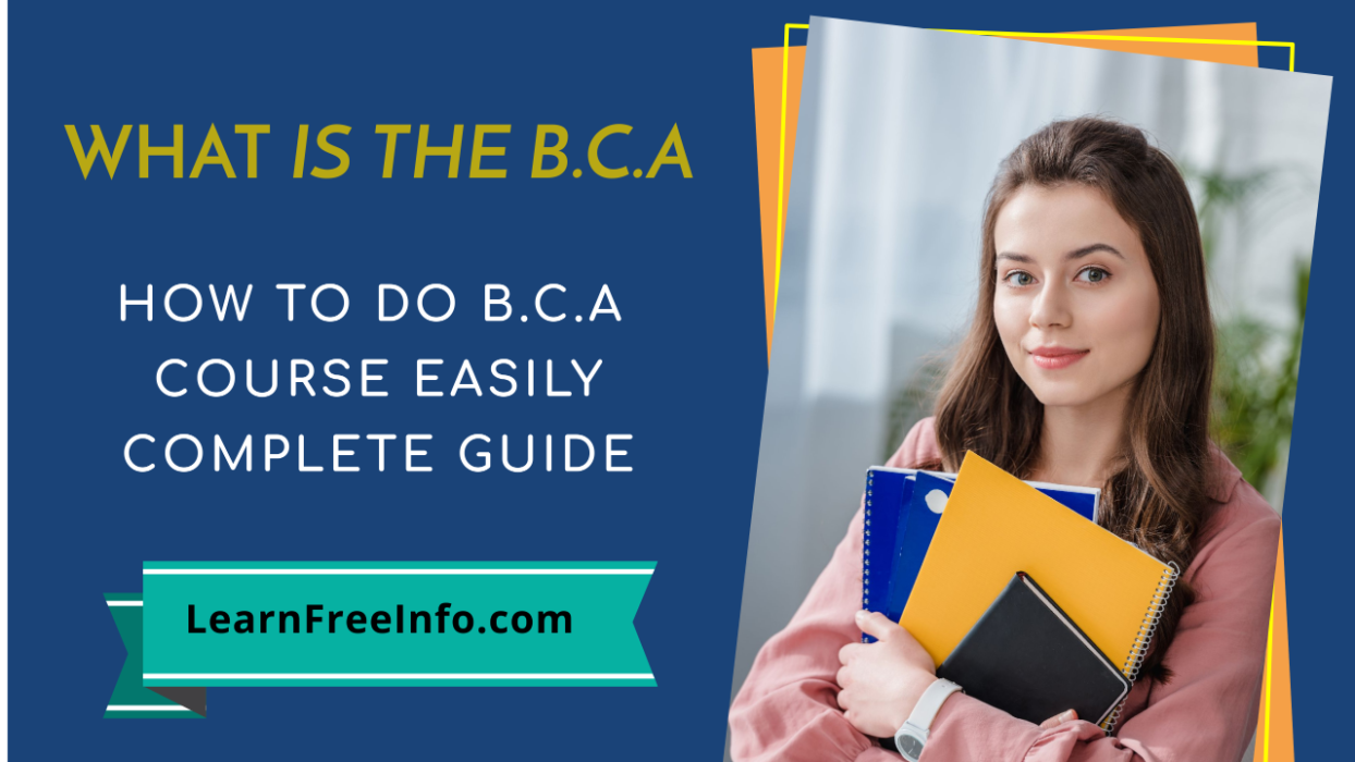 How to learn bca